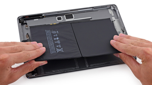 reparatii ipad air baterie