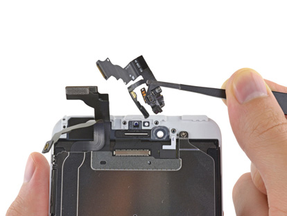 Inlocuire camera fata si senzori iPhone 6s Plus
