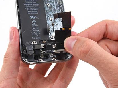 Inlocuire mufa alimentare iPhone 5S