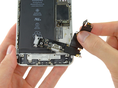 Inlocuire mufa alimentare iPhone 6 Plus